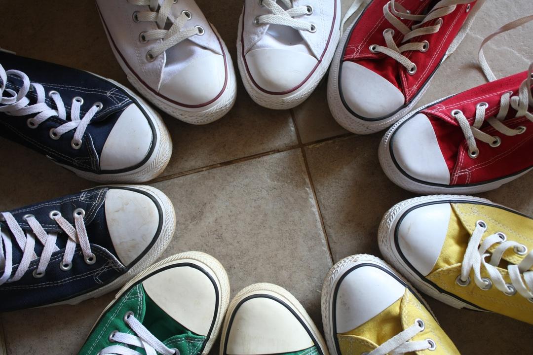 zapatillas para cooperacion